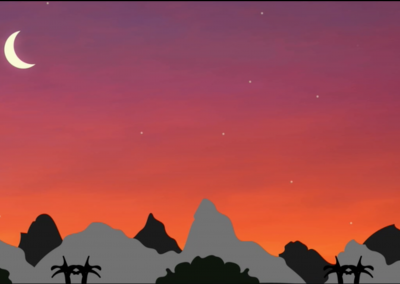 The Valley Sunset